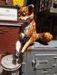 Stoned fox / Tails drogadicto silicon figure