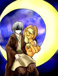 Daren Krest and Applejack
