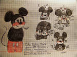 Cute Mickey Mouse doodles