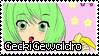 GeckiGewaldro stamp by Rockabell-Neko
