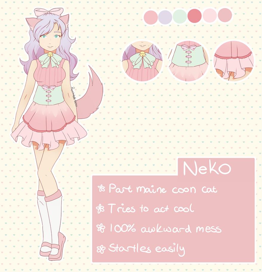Neko reference sheet by Rockabell-Neko