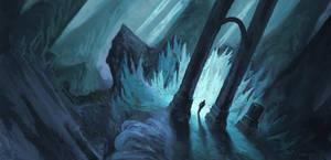 Light Filled Cavern