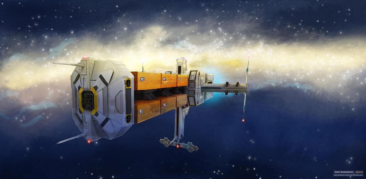Galaxy Trucker by fluffninja