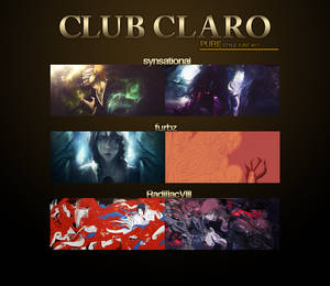 Club Claro Anime Wall 7