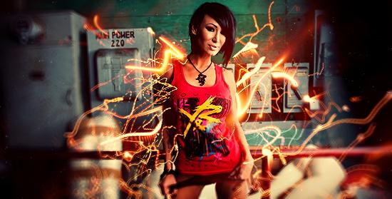 Sandee Westgate - Rawwwrrrrrr by RadillacVIII