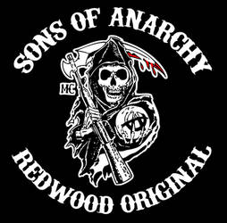 Sons Of Anarchy Logo by RadillacVIII