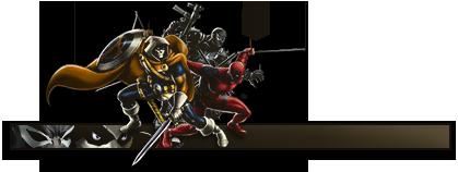 Dynamic Avengers Trio by RadillacVIII