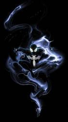 Symbiote Spidey - iPhone wallpaper by RadillacVIII