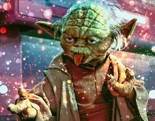 Yoda Einstein by RadillacVIII