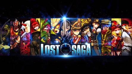 Lost Saga Laxion Loading Screen by RadillacVIII