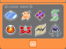 Fan Made Pokemon Gym Badges by Doomsdaytreecko