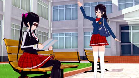 Koikatsu: Asumi meets Cassandra