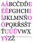Czech Alphabet