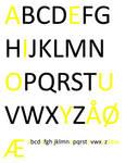 Danish Alphabet