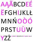 Kashubian Alphabet