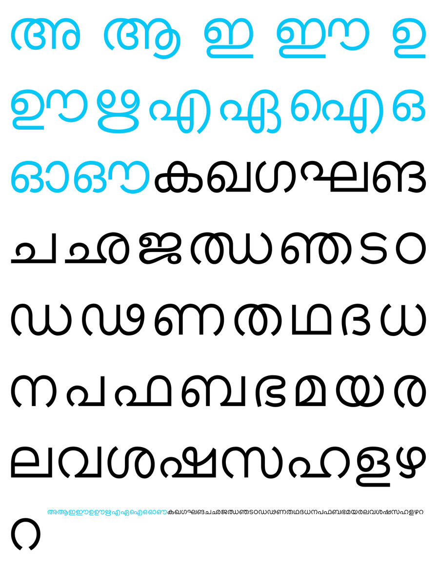 malayalam script writing Sites on scripts and writing  an introduction to writing systems a tutorial on scripts and writing systems  that includes an article on malayalam script and.