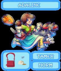(OPEN!) Adoptable RPG-- Adaline the Tamer by Ominous-Artist