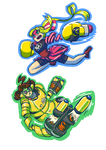 ARMS -- Ribbon and Mechanica