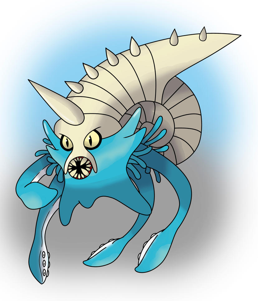 Mega-omastar by miguetricker on DeviantArt Wailord And Quagsire
