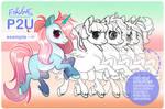 { P2U ] Pony Base