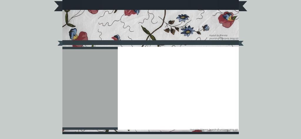 Free layout - flowers by JulieKrocova