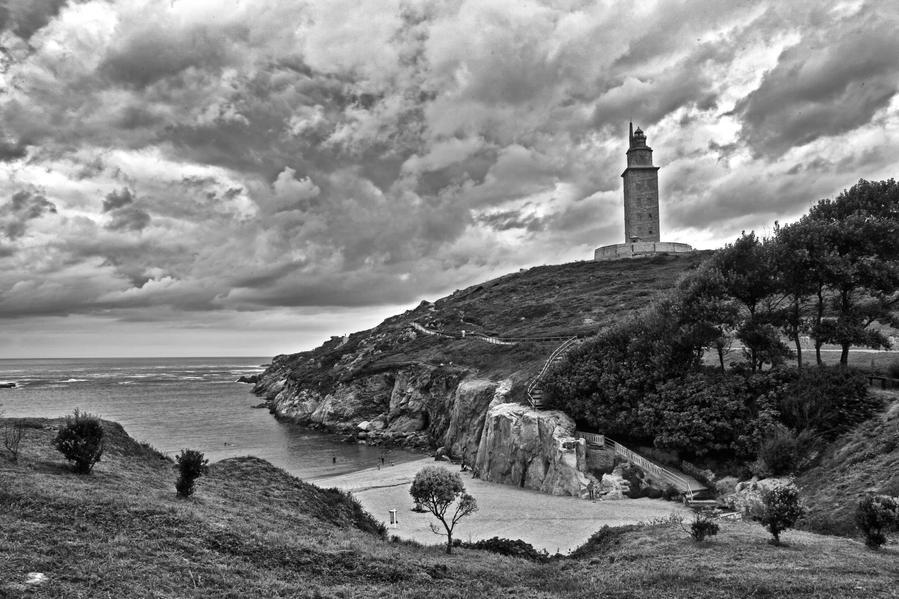 Tower of Hercules by melintir