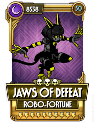 Robo Fortune - Jaws of Defeat