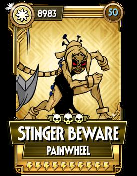 Painwheel - Stinger Beware