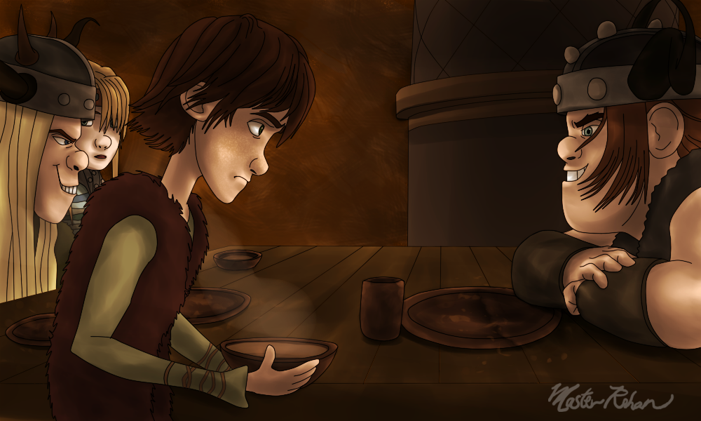 Hiccup and the Soup Bowl 5 by masterrohan on DeviantArt