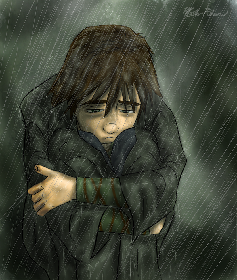 In The Rain By Masterrohan On DeviantArt