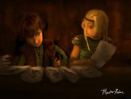 Hiccup and the Snoggletog Gifts