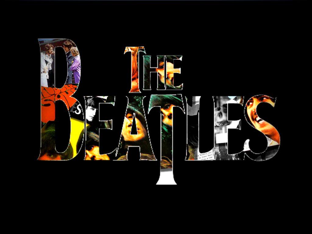 beatles logo collage by illtakepoint on deviantart