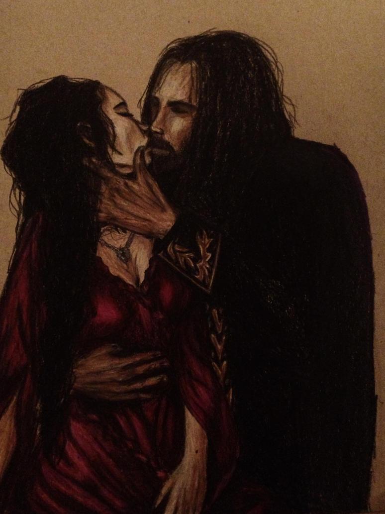 Dracula and Mina by ZukaneRain