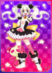 Magical girl Pretty Panda