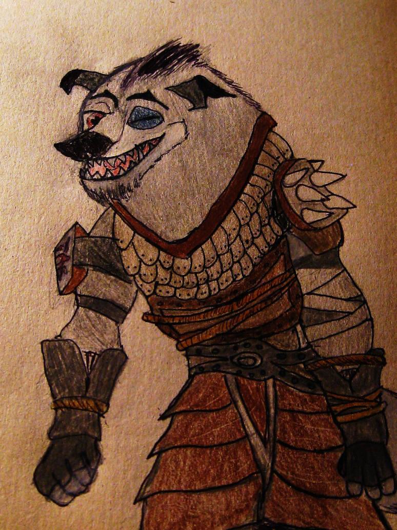Boss Wolf Kung Fu panda