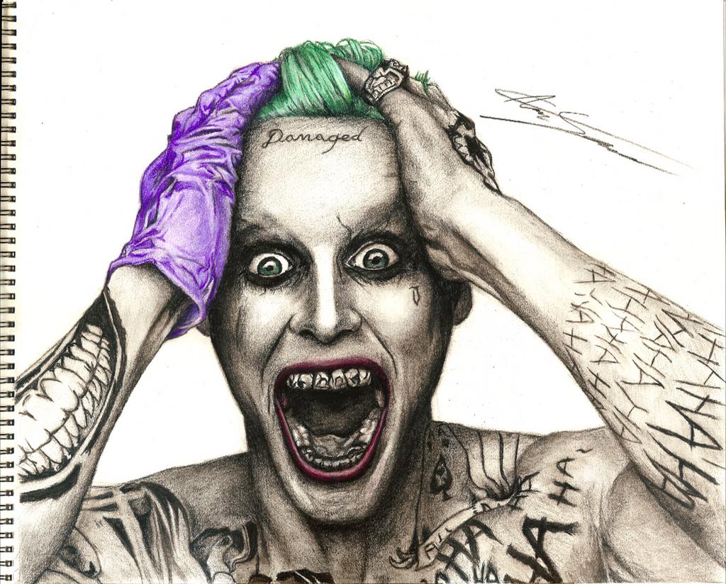 Джокер отряд самоубийц фото на аватарку 1