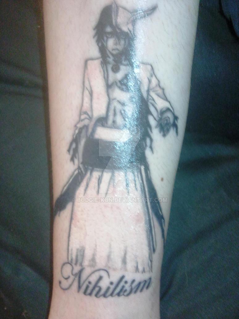 Ulquiorra Tattoo Ulquiorra Tattoo heale...