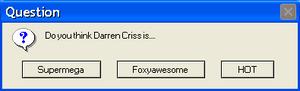 Error Message - Darren Criss