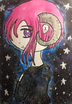 Galaxy and Star  by NobodiesHeartless45