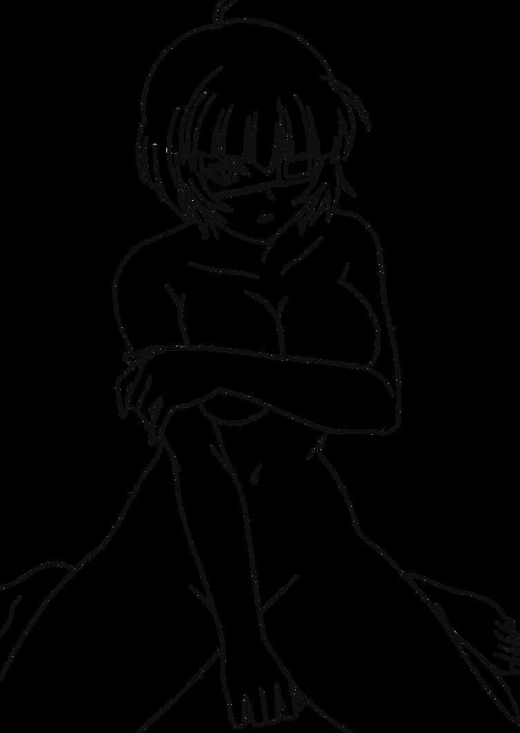 Ryomou Shimei Lineart 6 by revo111