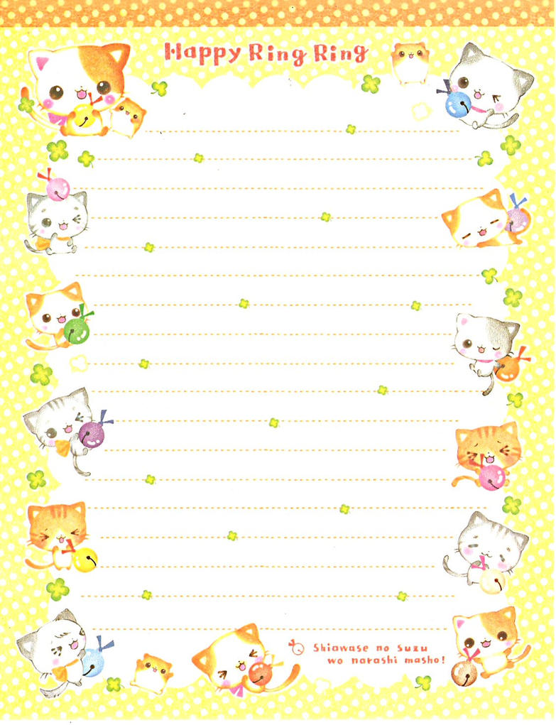 Japanese Memo Paper 28 by Dark-Angel15-2010