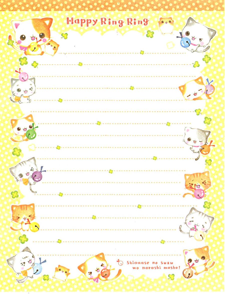 Japanese Memo Paper 28 by Dark-Angel15-2010