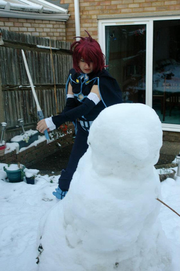 Kratos Aurion, Tales of Symphonia in Snow x1 by Dark-Angel15-2010