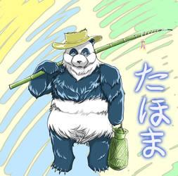 Tahoma the Boss Panda by mysticross