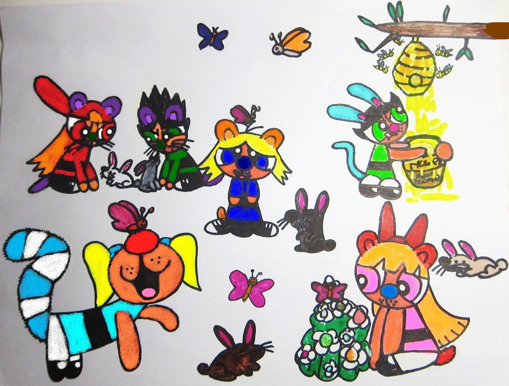 boomer in the big blue house spring fever by bitbbh lover98 on
