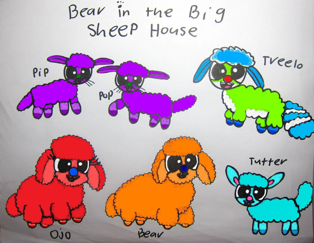 bear in the sheep house by bitbbh lover98 on deviantart
