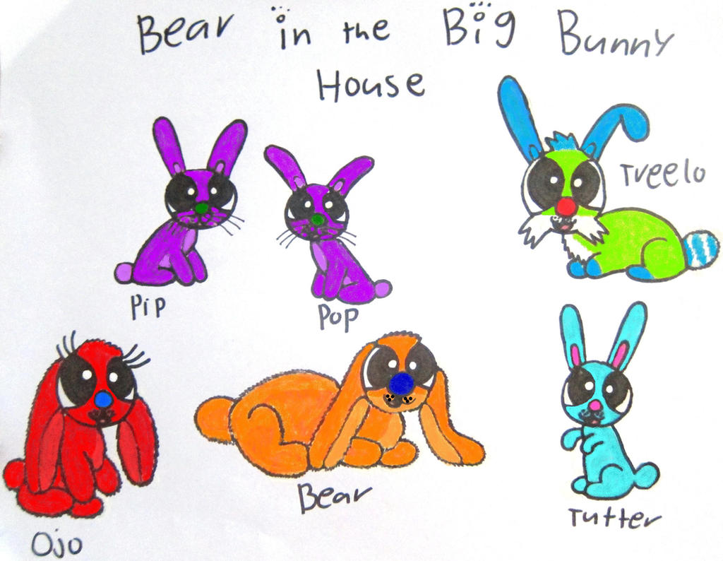 bear in the big bunny house by bitbbh lover98 on deviantart