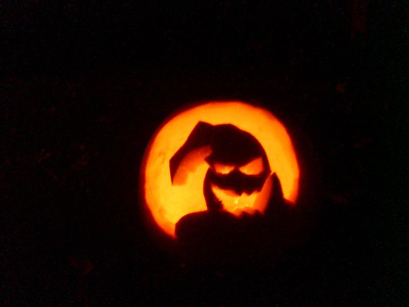 Oogie Boogie Pumpkin Template Oogie Boogie Man pumpkin  by