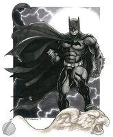 Batman by DKHindelang