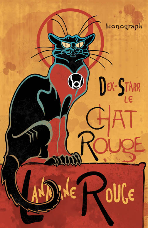 Chat Rouge - Dex-Starr by DKHindelang